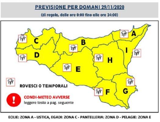 Meteo Ragusa, allerta arancione e peggioramento in vista: ecco l'AVVISO urgente della Protezione civile e del sindaco Cassì