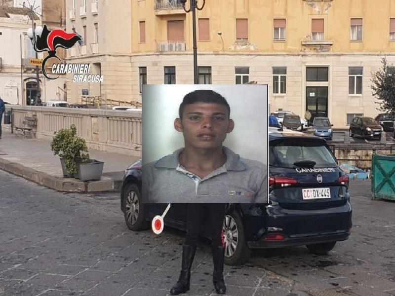 Perlustrazione dei carabinieri: arrestato 25enne per furto in un supermercato di Siracusa