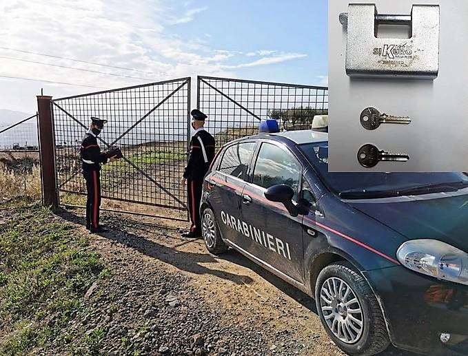 Entra in un terreno confiscato alla mafia e accudisce gli animali: denunciato 33enne del Catanese