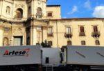 """""""Cyrano"""", Catania set per il nuovo film di Joe Wright: a Palazzo Biscari due giorni di riprese – FOTO"""