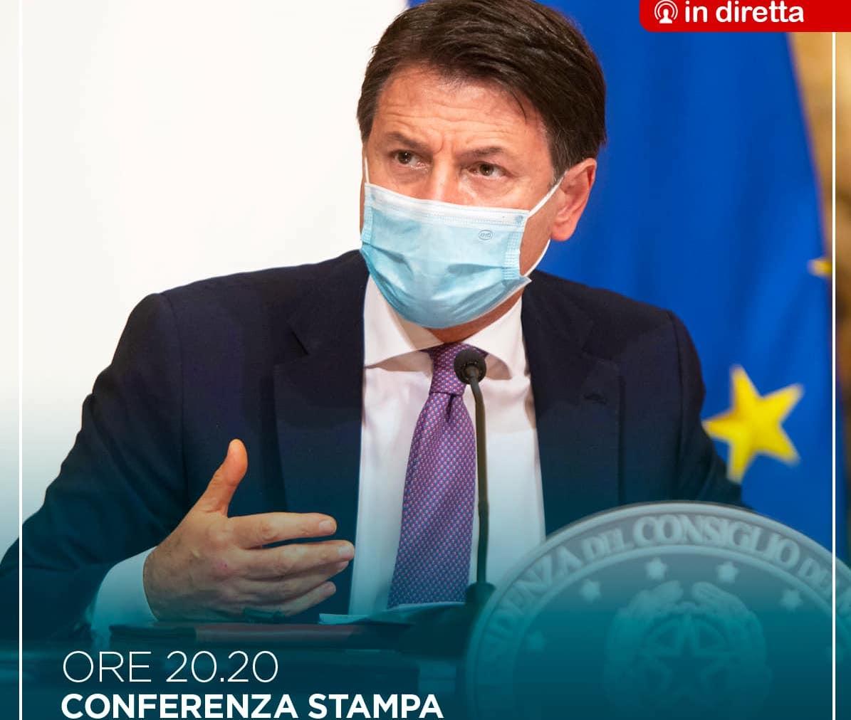 Nuovo Dpcm, DIRETTA di Conte stasera alle 20,20: nuove regole in vigore da venerdì 6 novembre