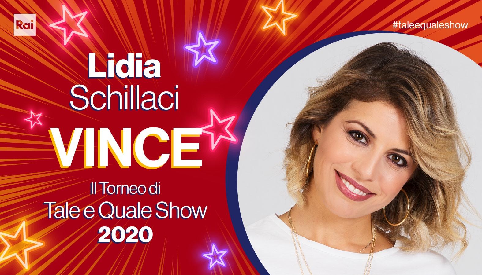 """Tale e Quale Show, vince la siciliana Lidia Schillaci. Il sindaco: """"Fa vibrare le corde dell'anima"""""""