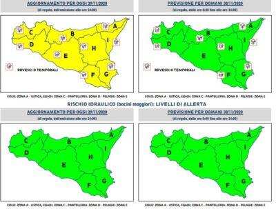 Meteo Sicilia 29 novembre