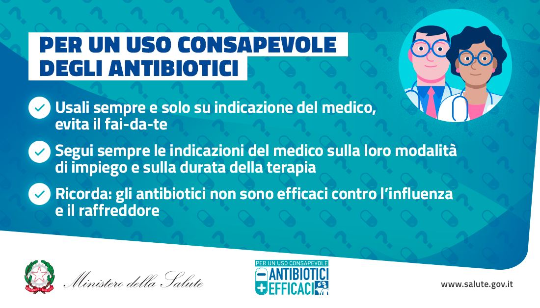 Settimana mondiale sull'uso degli antibiotici: tutte le tappe e il programma completo, previste lezioni e dibattiti