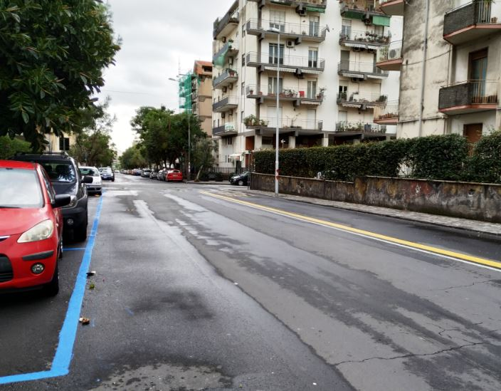 Catania, aumentano gli stalli blu nel quartiere Borgo-Sanzio. Presidente Cerri (Comitato Cittadino Vulcania) raccoglie le lamentele dei residenti e dei commercianti