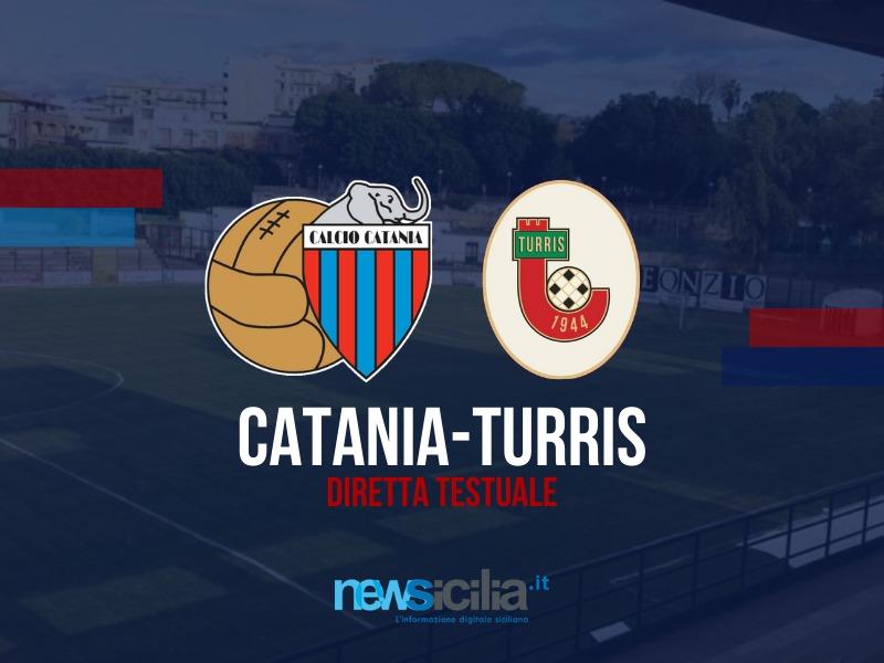 Catania-Turris 0-0: pareggio a reti bianche, i campani reggono contro i rossazzurri – RIVIVI LA CRONACA