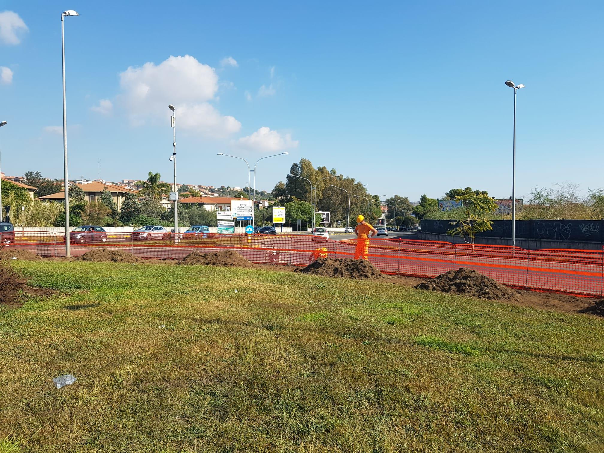 Verde Pubblico, sponsor privati riqualificano le rotatorie della circonvallazione di Catania