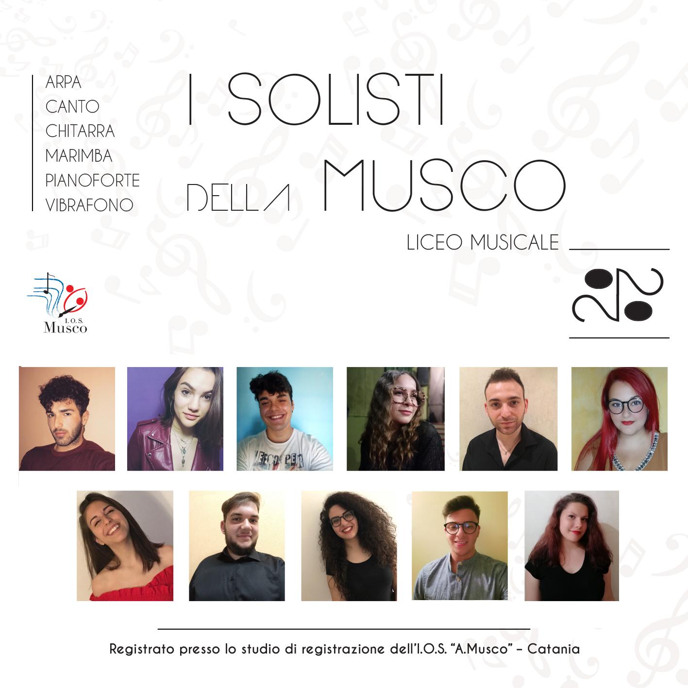 """""""I solisti della Musco 2020"""", il progetto degli studenti dell'Istituto """"Angelo Musco"""" di Catania"""