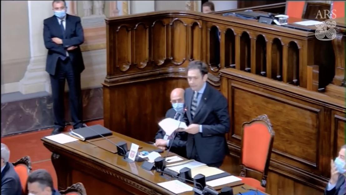 """Sicilia, respinta la mozione di censura all'assessore Razza: """"Molto facile puntare l'indice su cui lavora"""" – Il VIDEO dell'intervento all'Ars"""