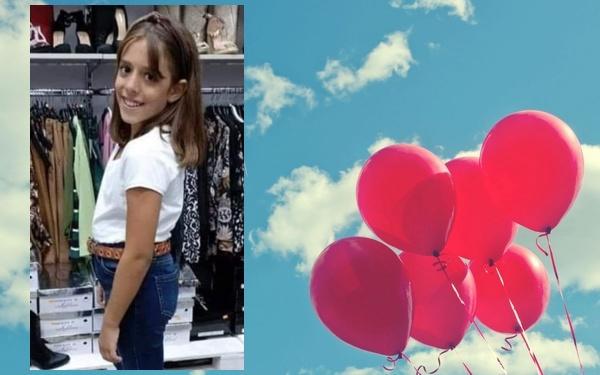 Lacrime e tristezza, addio alla piccola Marta: questa mattina i funerali tra palloncini e commozione