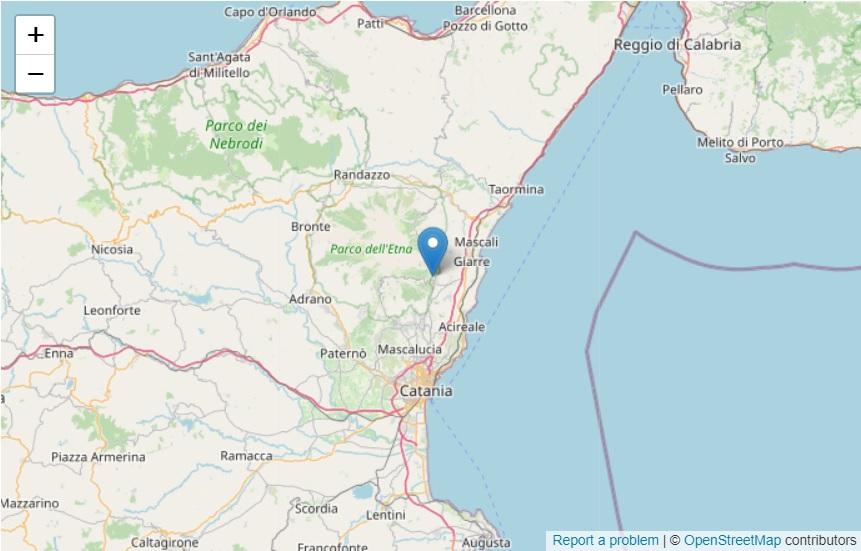 Trema la terra a Catania e provincia, registrata scossa di terremoto di magnitudo 2,5 – DETTAGLI