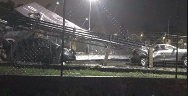 Tromba d'aria, all'aeroporto di Catania si contano i danni: pista chiusa, disagi all'attività aeronautica