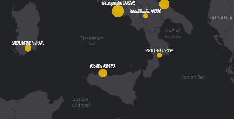 Coronavirus Sicilia, bollettino 16 dicembre: +29 morti, +1.065 nuovi positivi. Guariscono in 1.829