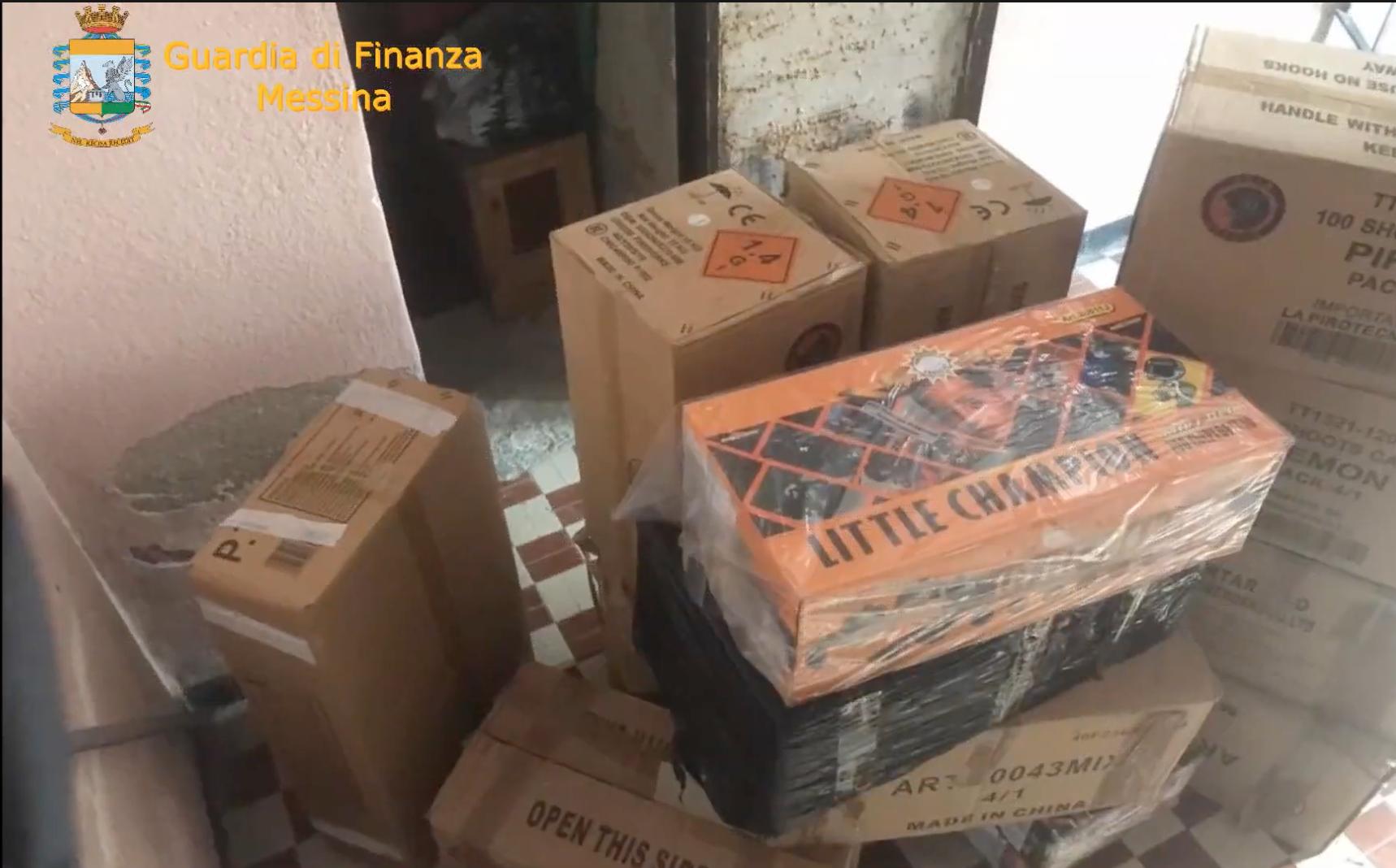 Controlli nei quartieri, la Finanza sequestra 318 Kg di botti di Capodanno – IL VIDEO