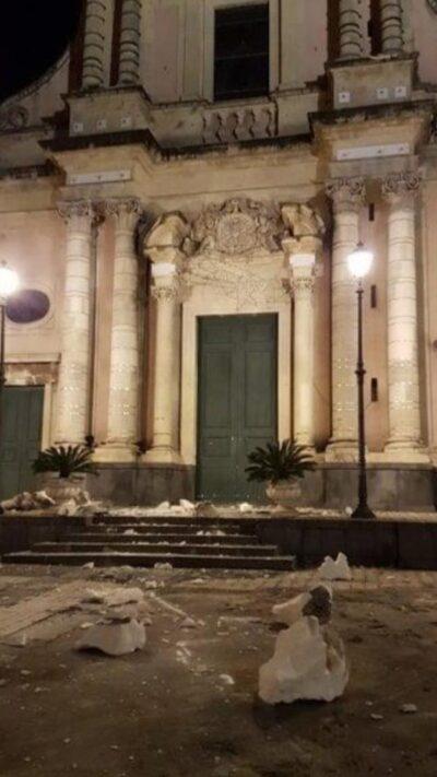Foto terremoto Sicilia 2018