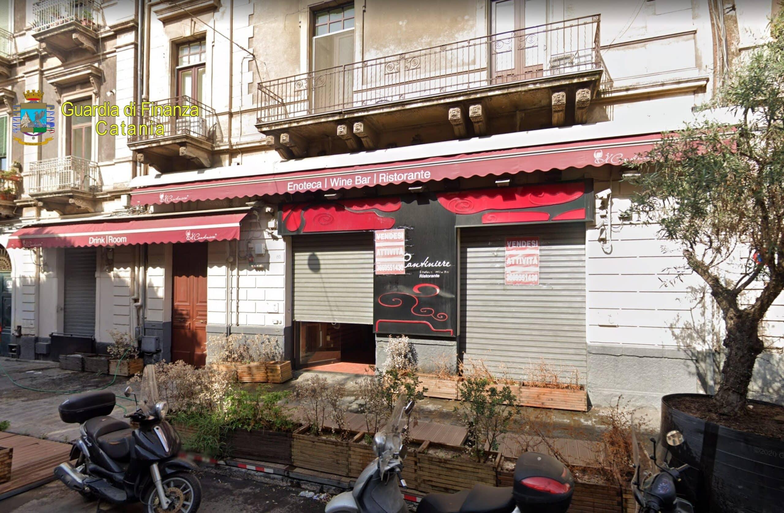 """Catania, ancora guai per """"Il Cantiniere"""": gestore arrestato e patrimonio aziendale sequestrato. Tre locali coinvolti"""
