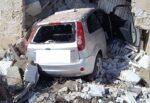 Spaventoso incidente sul rettilineo della Strada Statale, auto si schianta contro casolare – le FOTO dello scontro di Vittoria
