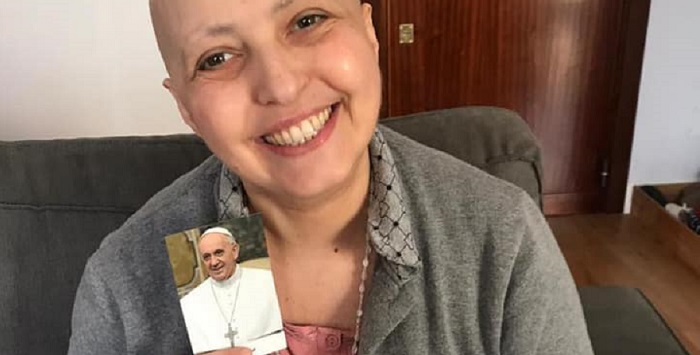 """Marianna e la sua lotta contro il linfoma: """"Ero convinta di morire, il Papa mi ha scritto una lettera"""""""