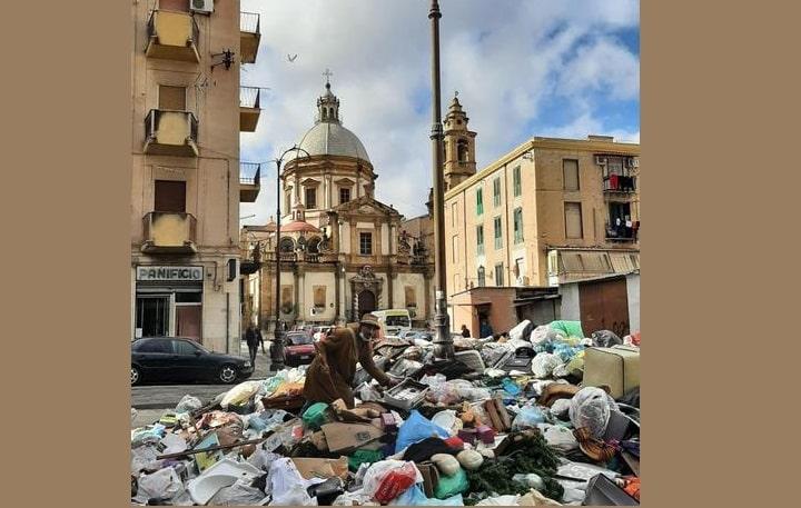 Emergenza rifiuti Palermo, manca poco per rimuovere tutta la spazzatura per strada: DATE interventi e ZONE coinvolte