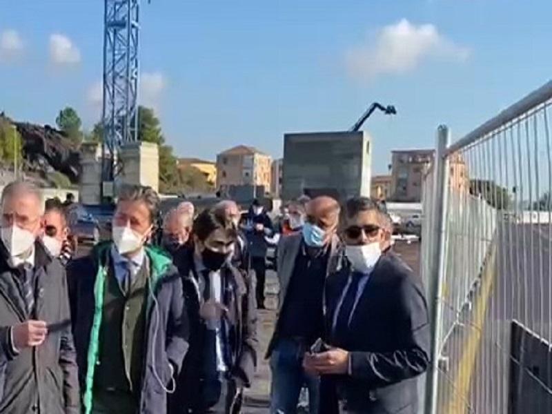 Catania, riaperta corsia di ingresso sulla circonvallazione in corrispondenza del cantiere metro