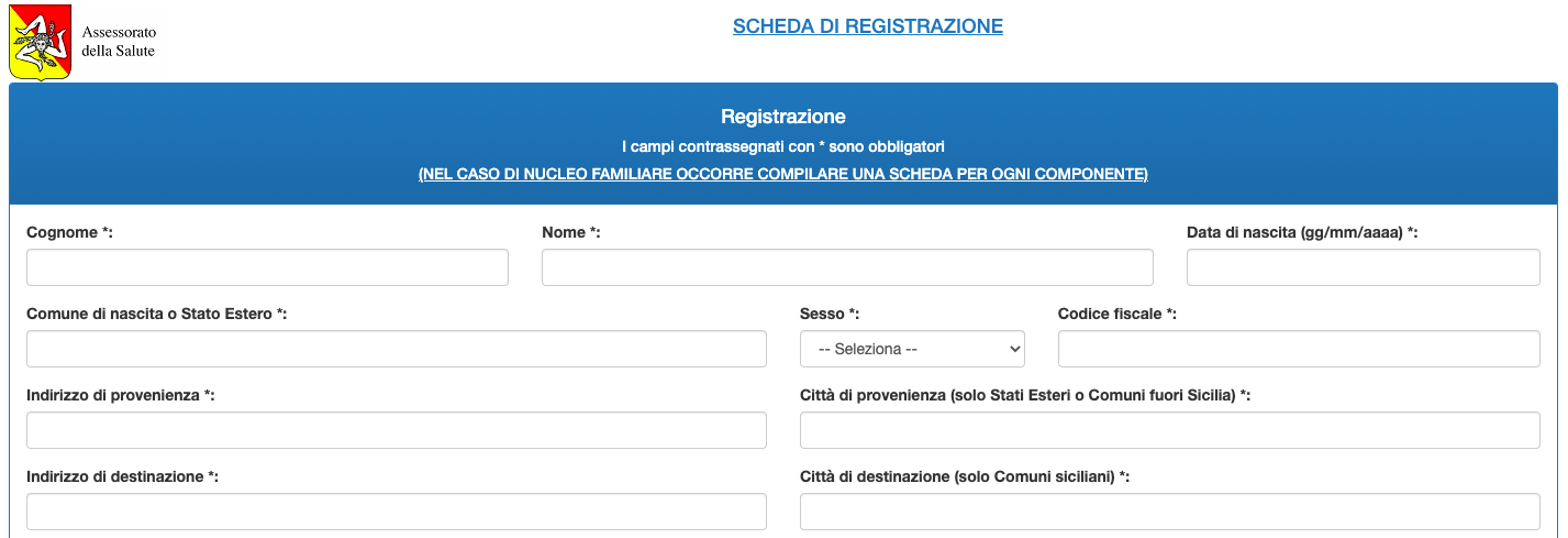 Coronavirus Sicilia, rientri per Natale e Capodanno: registrate già oltre 7mila persone sul portale della Regione