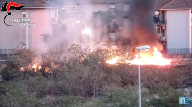 spaccio incendio cimici