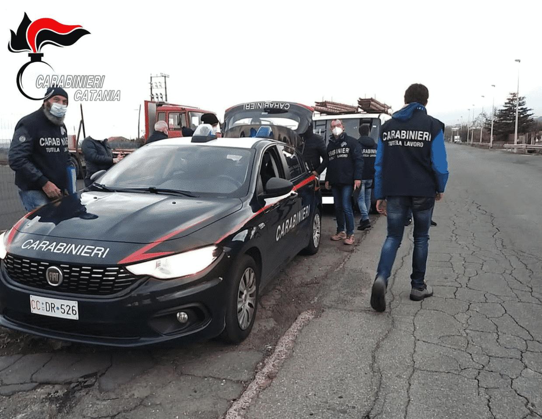 Caporalato e violazione normative anti Covid in provincia di Catania: 8 ditte controllate, 2 denunce