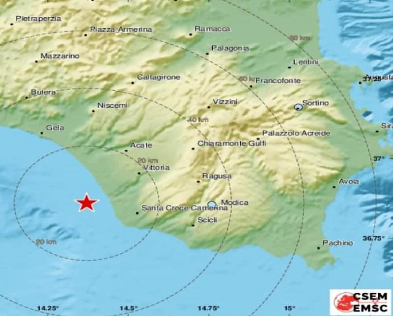 """Terremoto in Sicilia, l'AGGIORNAMENTO dalla Regione e dalla Protezione civile: """"Niente danni e feriti"""""""