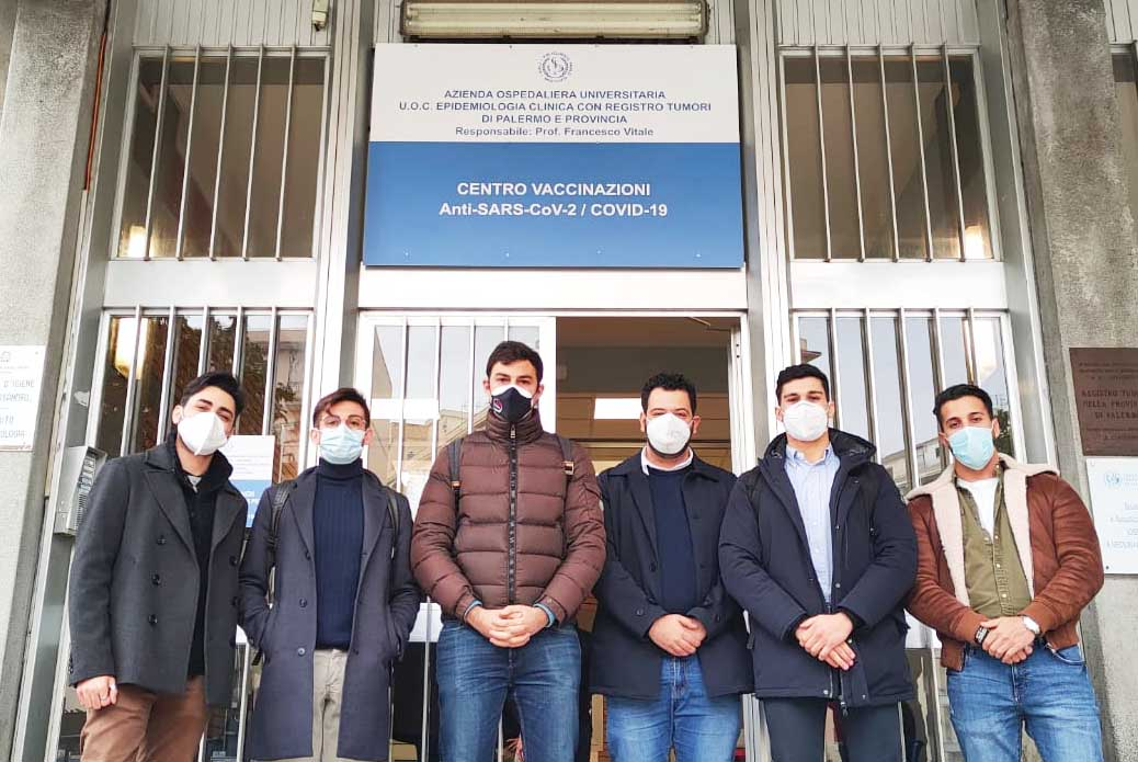"""Coronavirus Sicilia, vaccinati a Palermo rappresentanti UniCT: """"Sensibilizzare comunità"""""""
