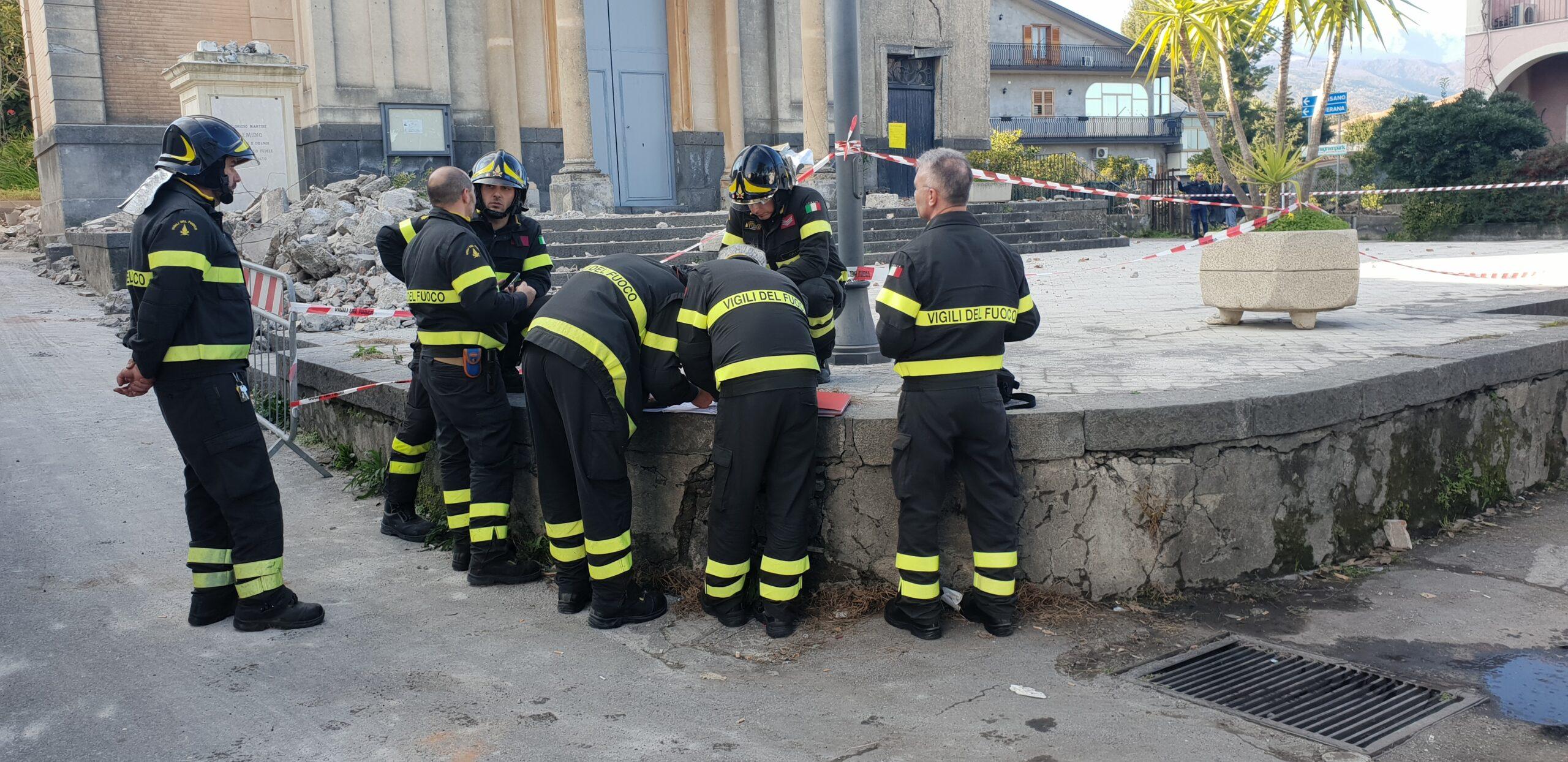 Acireale post-sisma Santo Stefano 2018, la statua di Sant'Emidio tornerà a Pennisi