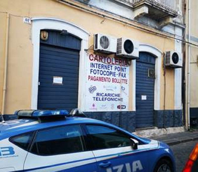 Catania, sembrava una cartoleria ma era un centro scommesse abusivo: denunciato titolare in via Juvara
