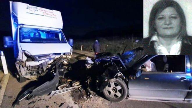 Terribile incidente mortale tra Palma di Montechiaro e Licata: la vittima è Maria Assunta Candiano, 4 i feriti