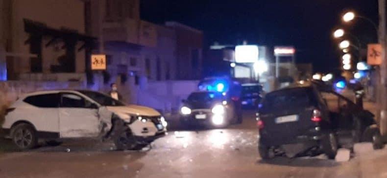 Marsala, incidente in via Mazara: scontro tra due auto, donna in gravi condizioni