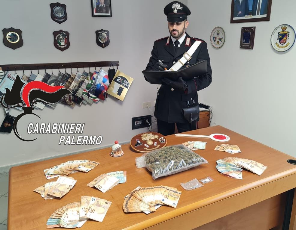 Nasconde droga tra i mobili di casa: si aprono le porte del carcere per un 47enne di Piana degli Albanesi