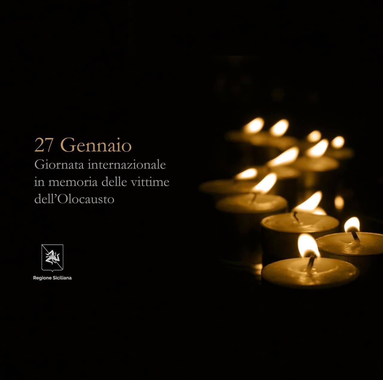 """Giornata della Memoria, il presidente Musumeci: """"Non bisogna dimenticare"""""""