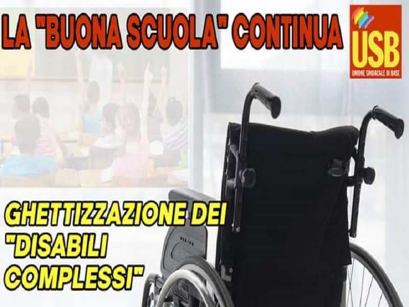 Nuovo Piano Educativo Individualizzato: Usb Catania si schiera contro
