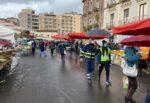 Catania, controlli alla fiera e per le vie della città: multati abusivi e trasgressori delle norme anti-Coronavirus
