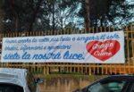 """Coronavirus Sicilia, uno striscione ringrazia medici e infermieri: """"Siete la nostra luce, grazie!"""""""