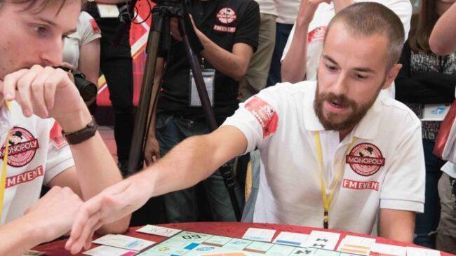 Monopoly gara Nicolò Falcone
