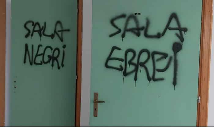 """Il nazismo del 21esimo secolo, scritte contro ebrei e """"negri"""" in scuola siciliana. Sindaco Quinci: """"Atto vile e inumano"""""""