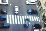 """""""Sulu a Catania sti cosi"""", strisce pedonali """"a metà"""" in via Principe Nicola: la """"soluzione"""" lascia a bocca aperta"""