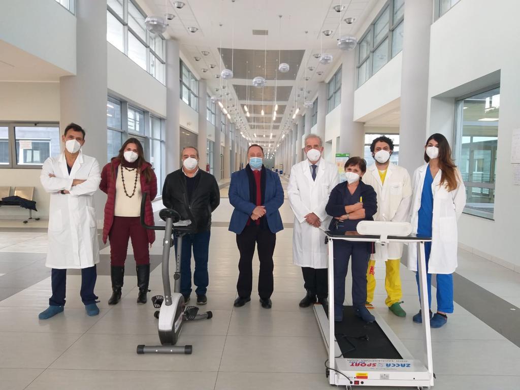Coronavirus Catania, nuovo progetto di riabilitazione respiratoria al San Marco