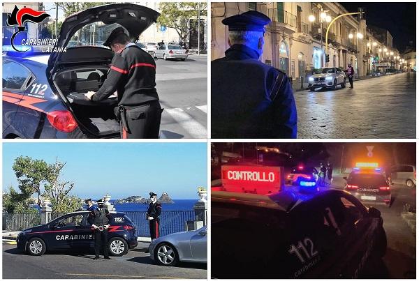 Controlli anti-Covid a Catania, 24 multe e tre denunce: senza mascherina e fuori oltre il limite orario