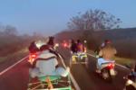 Incidente stradale durante corsa clandestina: video su Facebook, denunce e feriti – VIDEO