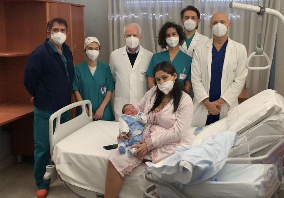 Catania, il primo nato in Italia del 2021 è Antonio: venuto alla luce un secondo dopo la mezzanotte