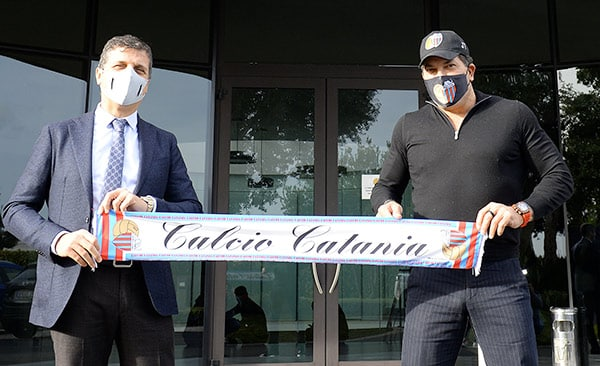 Calcio Catania, firmato il contratto preliminare: prima riduzione debiti poi il closing definitivo