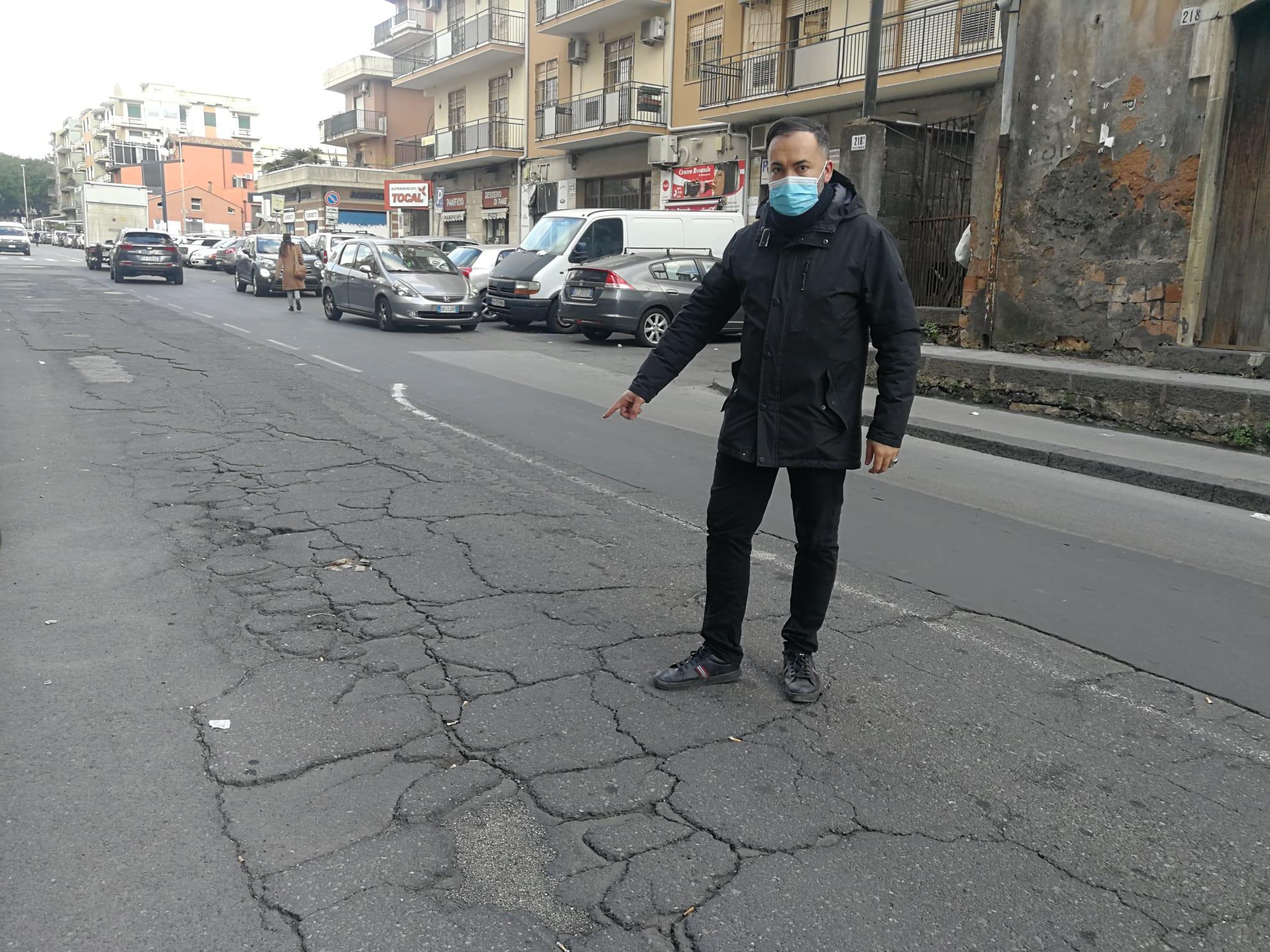 Catania, urge maggiore sicurezza in via Renato Imbriani. La richiesta del consigliere Grasso (II Municipio)