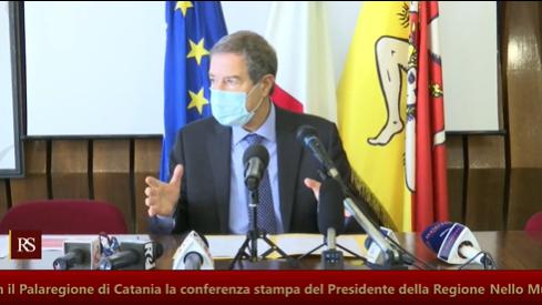 """Covid, Sicilia """"in prova"""" per 15 giorni. Musumeci: """"Se le misure non saranno sufficienti prorogheremo la zona rossa"""""""