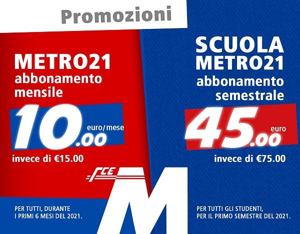 Metropolitana di Catania, doppia offerta per studenti e utenti – I DETTAGLI