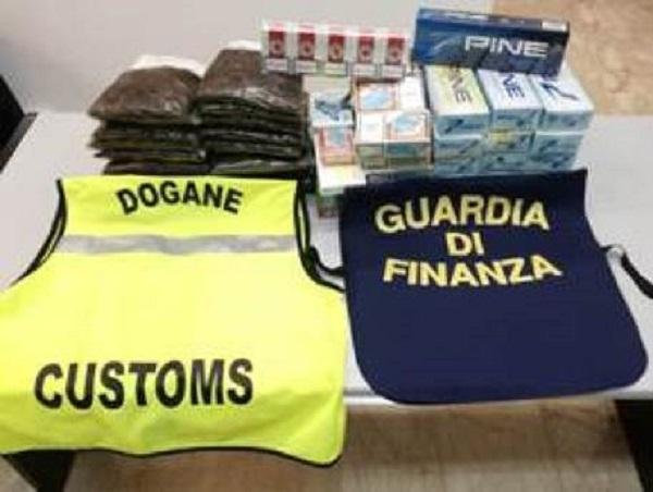 Maxi sequestro al porto di Palermo: tunisino con oltre 28 chili di tabacchi in auto